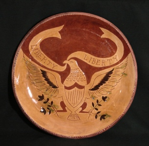 Redware Charger, Eagle
