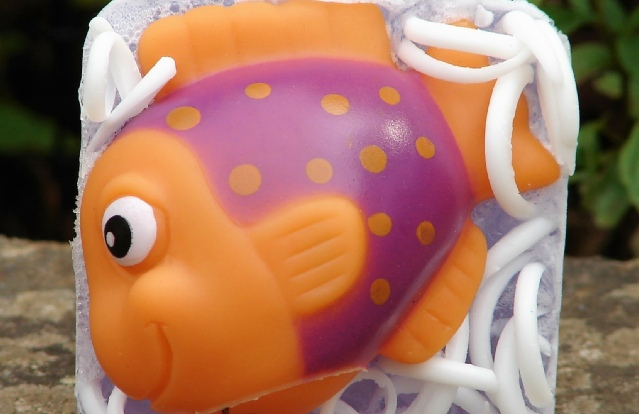Kulina Alchemy, tropical fish toy soap